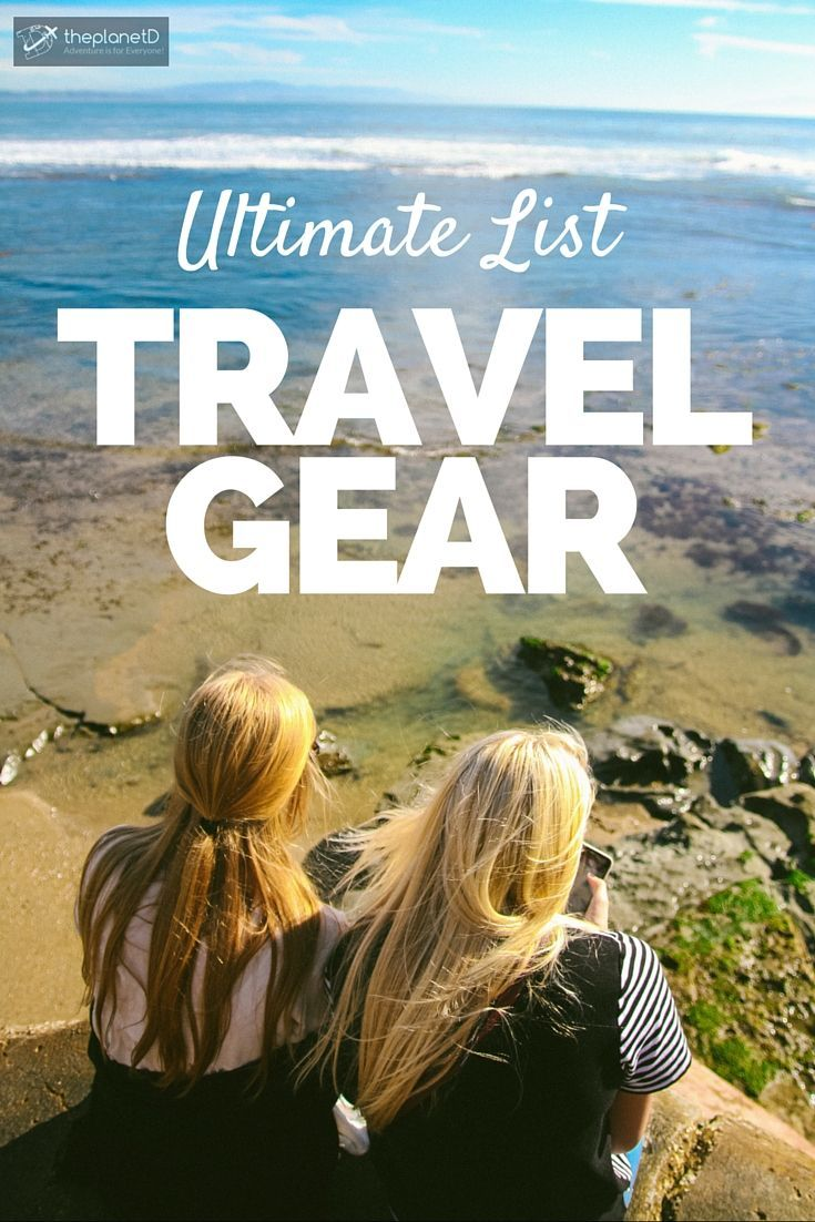 Our Ultimate List of Travel Gear to help you Pack Smart | We've been testing out a bunch of different travel gear > here's a list of our favourite gear to help you pack smarter | The Planet D: Canada's Adventure Travel Couple:
