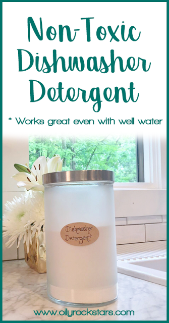 Non Toxic Dishwasher Detergent Great For Those With Well Water Dishwasher Detergent Diy Dishwasher Detergent Homemade Dishwasher Detergent