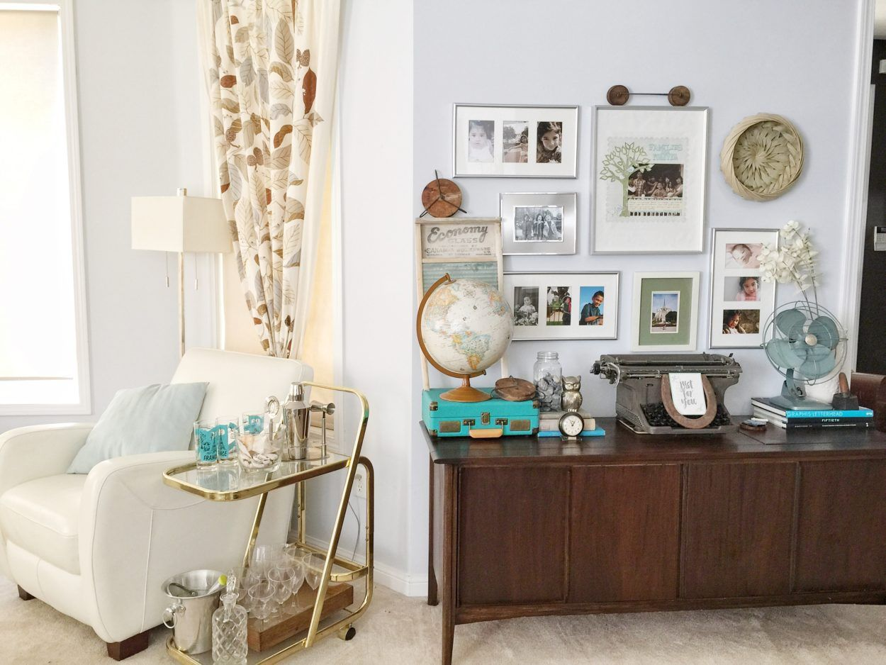 Beau Decorating With Vintage Items