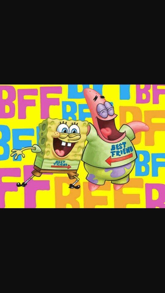 Best Friends Forever W Spongebob Spongebob Squarepants