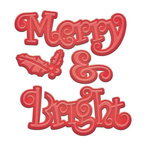 Spellbinders Merry And Bright