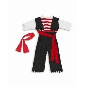 Black Pirate Costume Childu0027s for dressup or Halloween! (2T-4T)  sc 1 st  Pinterest & Black Pirate Costume Childu0027s for dressup or Halloween! (2T-4T ...