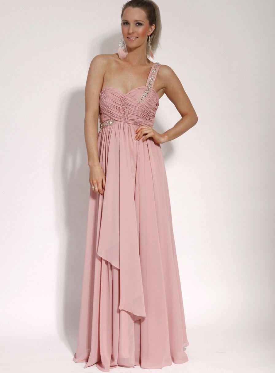 Embellished One Shoulder Dress | Wedding Details | Pinterest