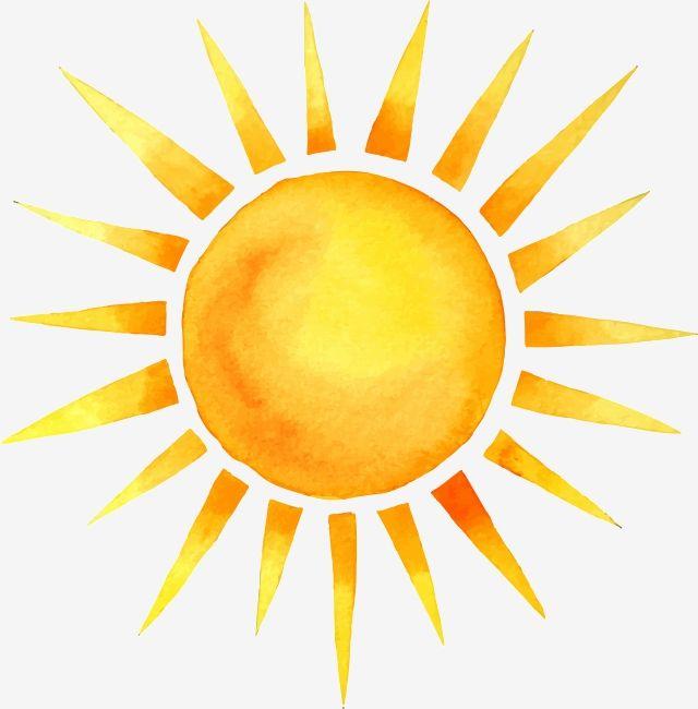 Handgemalte Sommersonne Des Cartoons Aquarell Sommer Dekoratives Muster Png Und Psd Datei Zum Kostenlosen Download Sun Drawing Sun Painting Sun Illustration