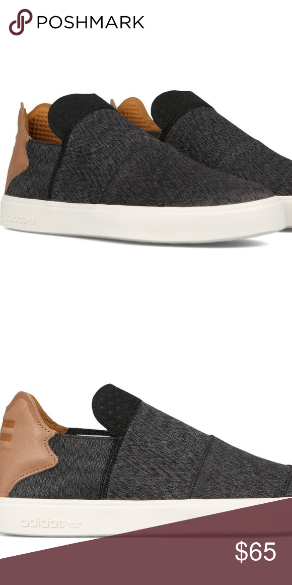 44568f8d1ccfd Adidas Pharrell Williams Vulc Shoes Slip-On Yeezy adidas Pharrell Williams  Vulc Shoes - Slip-Ons (For Men) Created in collaboration with musician  Pharrell ...