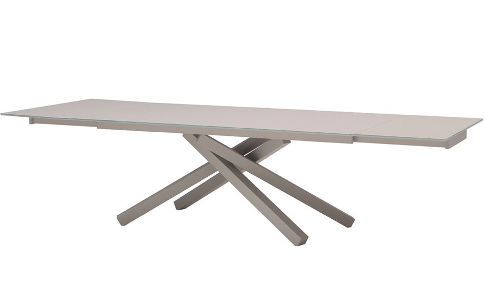 Midj Pechino All Extendable Dining Table 114 In Extendable