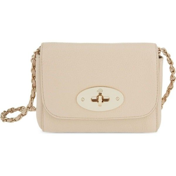d7980dd519 MULBERRY Mini Lily leather shoulder bag ( 510) ❤ liked on Polyvore  featuring bags
