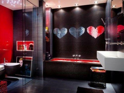 33 Dunkle Badezimmer Design Ideen Dunkle Badezimmer Design Popart