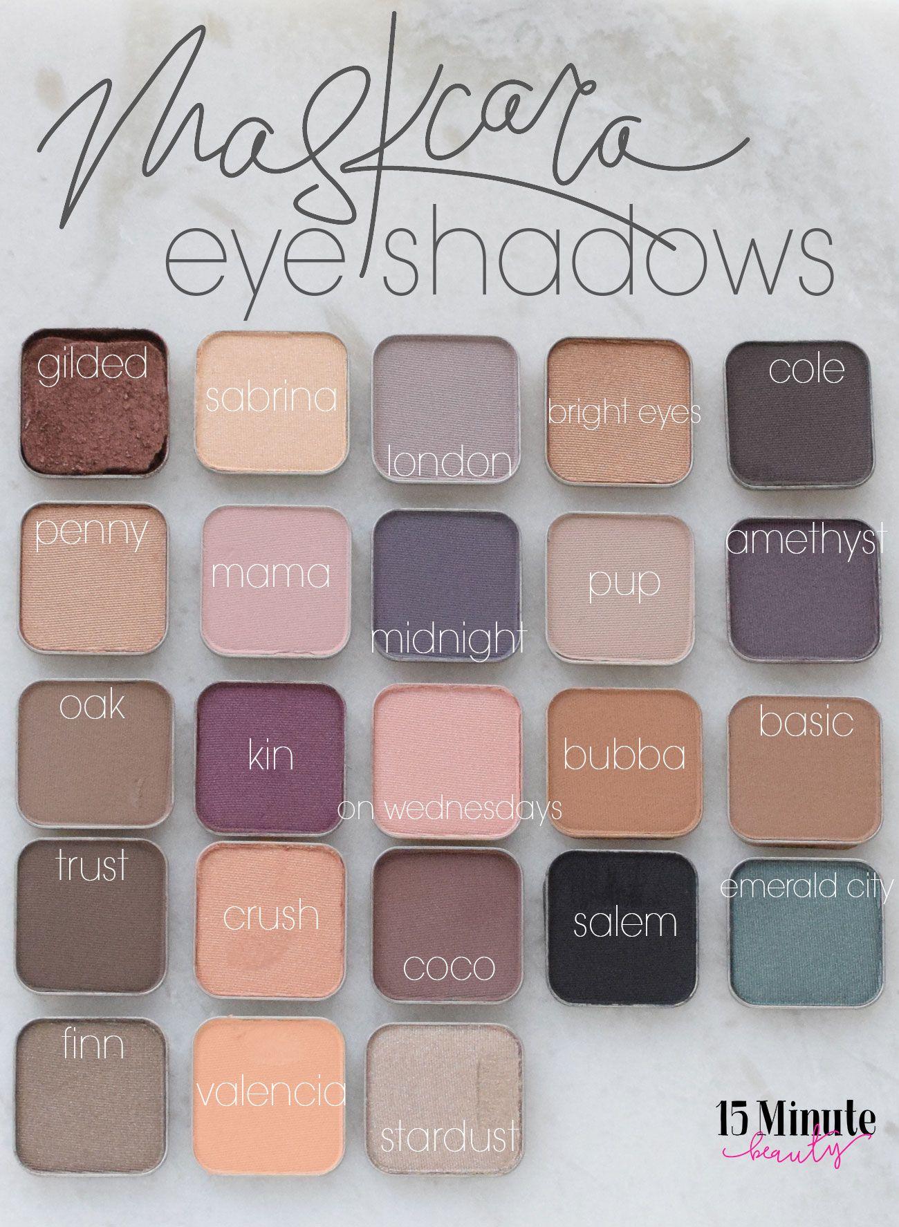 Maskcara Eyeshadow Review and Swatch Maskcara makeup