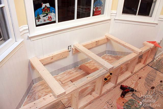 Building A Window Seat With Storage In A Bay Window Window Seat Storage Diy Window Seat Bay Window Benches