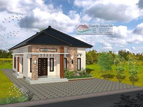 modern house (7,5x14) 3 k. tidur. desain rumah minimalis