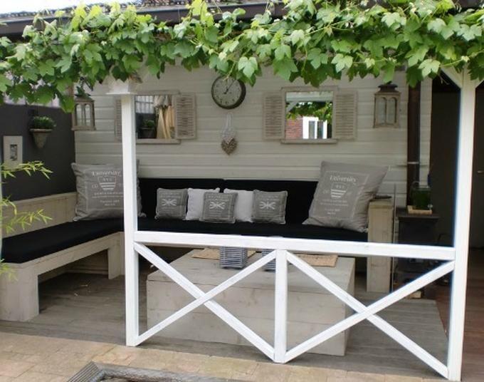 Romantische terrasse gef llt mir sehr terrasse garten for Romantische garten gestalten