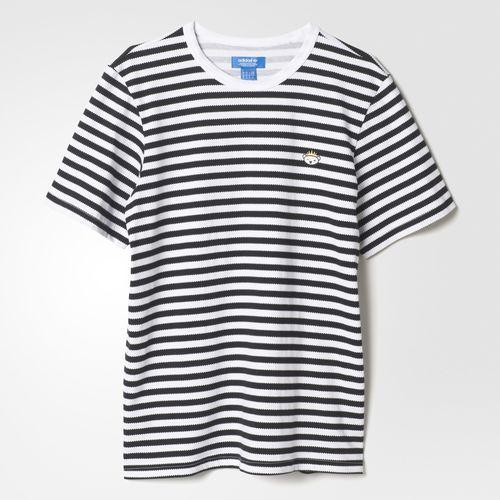 Camiseta Serrated Stripe - Negro adidas | adidas España