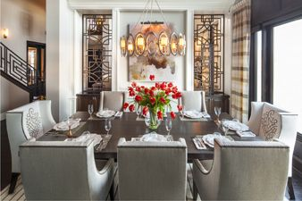 hamptons-inspired-luxury-home-dining-room-robeson-design | Dining ...