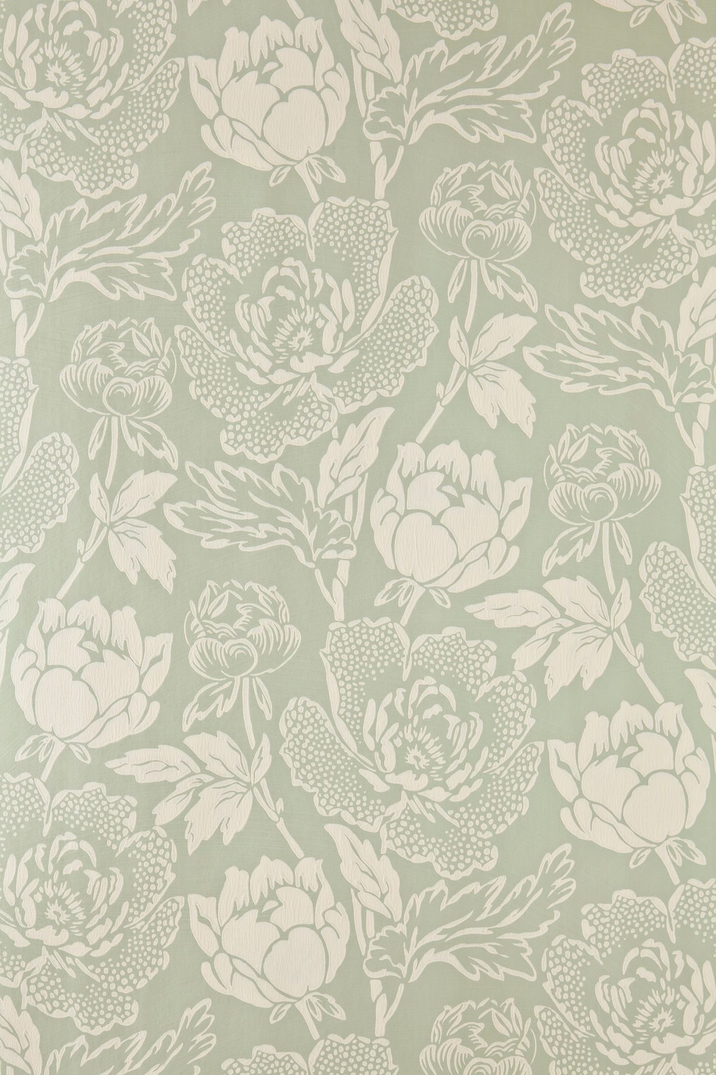 Farrow Ball Peony Wallpaper Peony Wallpaper Green Wallpaper