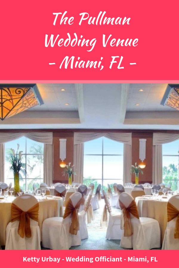 Pullman Miami Airport Hotel Wedding Venue Review