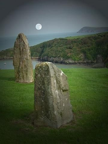 Pembrokeshire, Wales.  Celtic crosses, standing stones and much more - Wonderful Wales