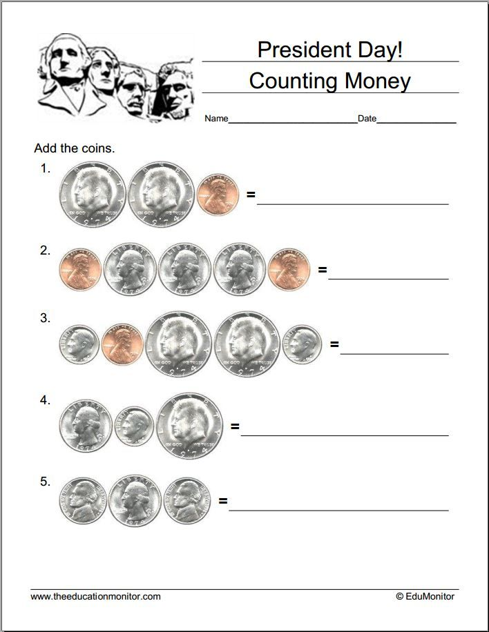 Free Presidents Day Worksheets and Puzzles – Presidents Day Worksheets