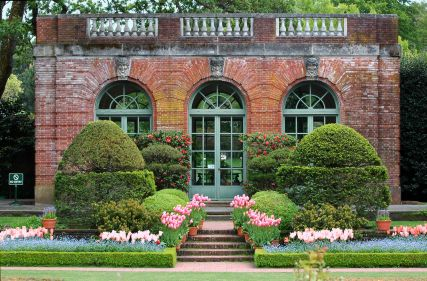 Filoli Garden House Woodside California