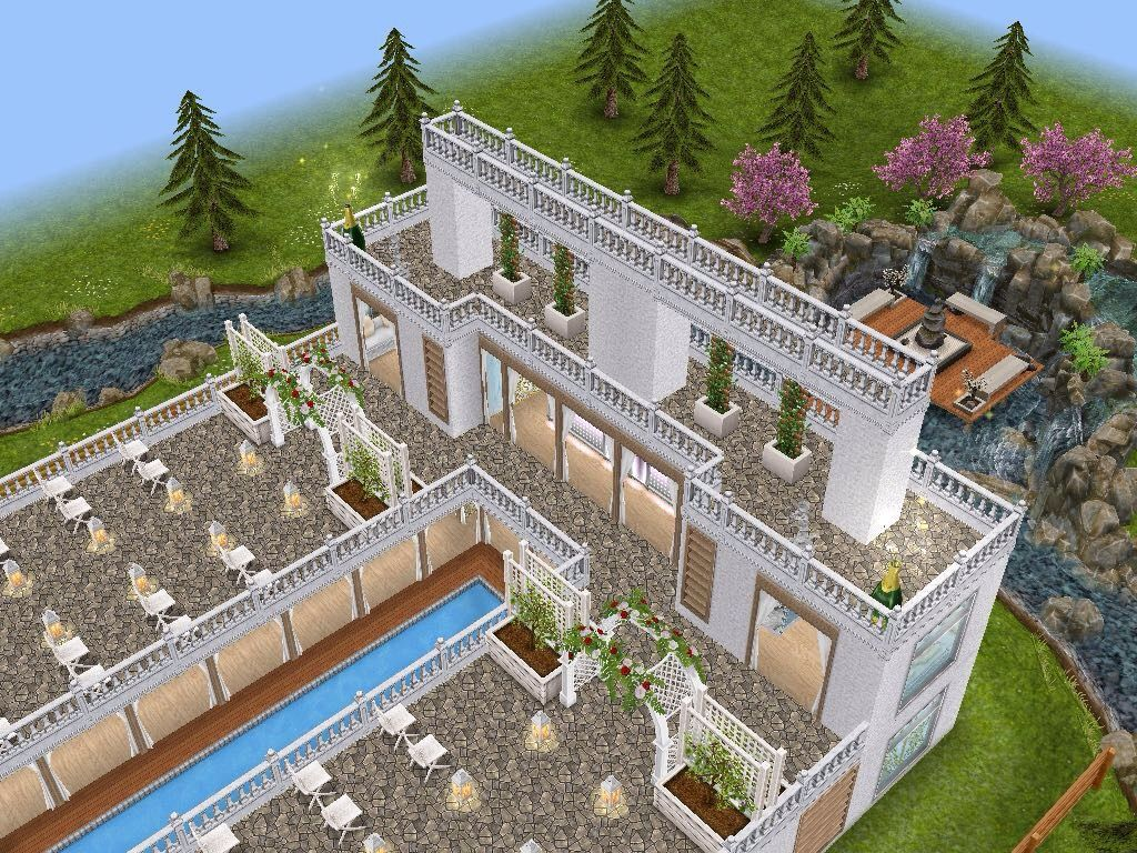house 100 wedding venue full view sims simsfreeplay
