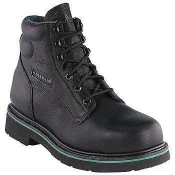 """Florsheim Work 6"""" Classick Boot Boots (Black) - Men's Boots - 8.5 D"""