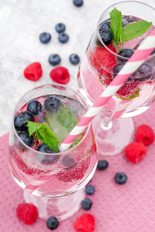 Vier schnelle alkoholfreie Cocktails - erfrischend und lecker