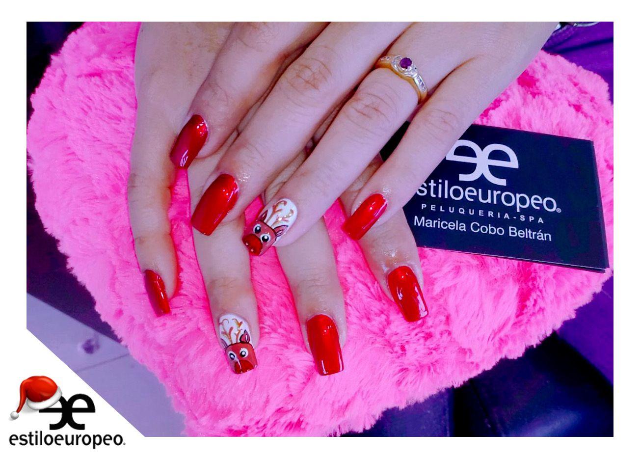 Diseños navideños para tus uñas ¡Un buen momento para disfrutar de ...