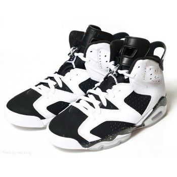 innovative design dc23c 1c526 384664-101 Air Jordan 6 (VI) Retro Oreo White Black A06010