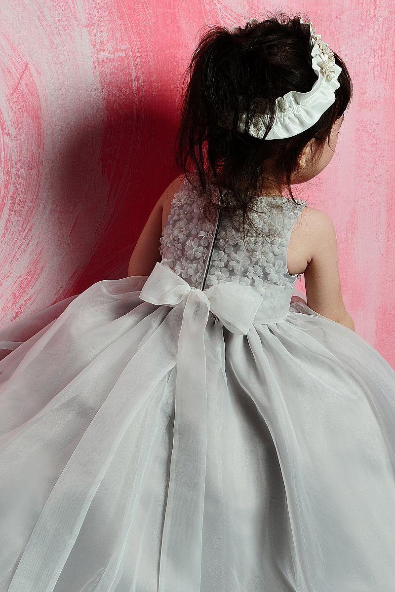 Perfect Ball Gown Organza Sleeveless Flower Girl Dressus17500