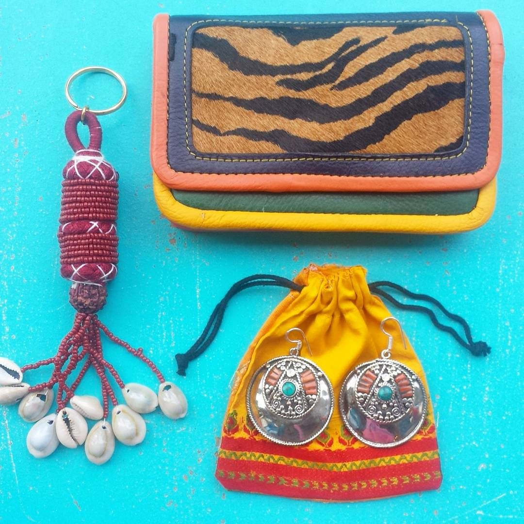 Funky #bohemian #gypset treasures from #India ♡ One of our New Arrivals ✌ beaded #Kauri shell #Keytassels & #Gypsy Earrings ♡ #Recycled Leather Purse ♡ We're OPEN again Tomorrow! 11:00-18:00 ♡ #MilagrosMundo your #local #urban #hippy #lifestyle #conceptstore #Amsterdam #020WEST #TribeCalledWest ♡ #Netherlands #AmsterdamWest ✌ #HIPPIES ALWAYS WELCOME! ♡