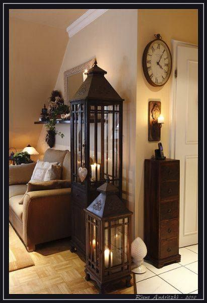 Large And Tall Lanterns Cozy Living Rooms Lanterns