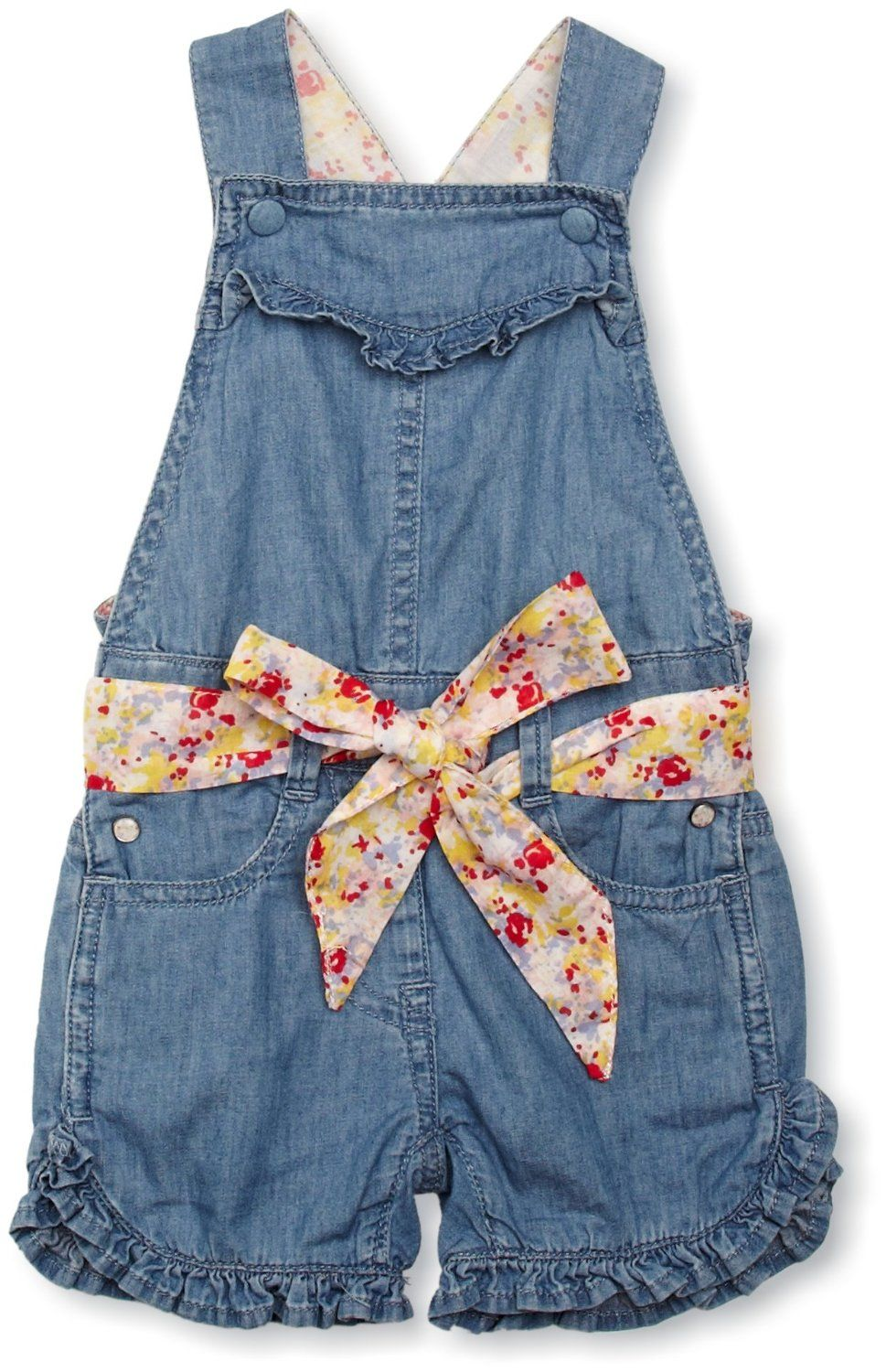 870643d4c209 Silvian Heach Kareem Baby Girl s Dungarees Denim 9-12 Months  Amazon.co.uk   Clothing