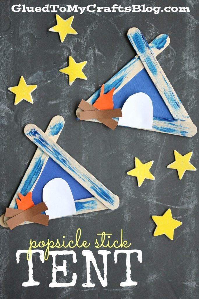 Popsicle Stick Tent