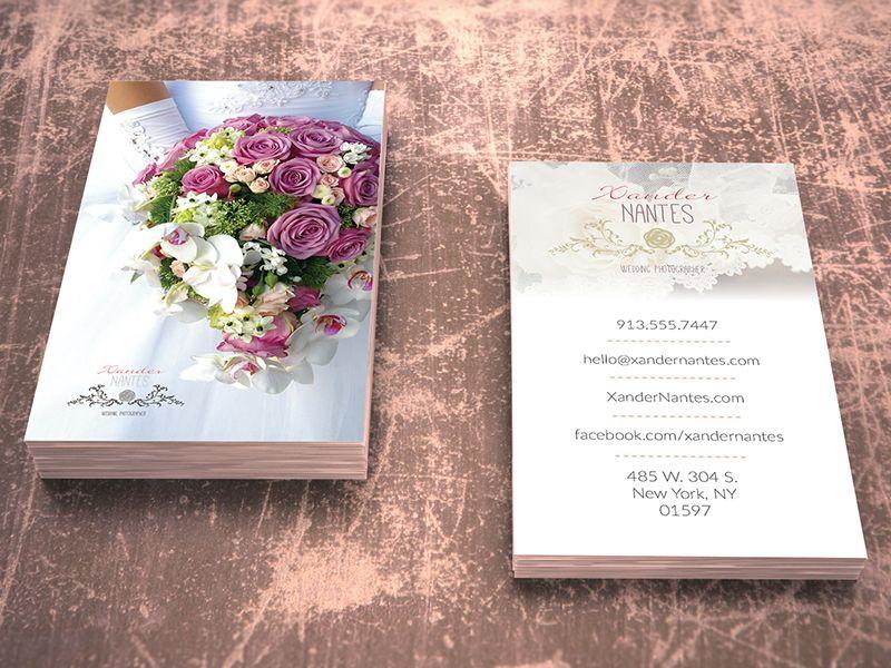 Wedding photographer business card v1 photoshop psd template wedding photographer business card v1 photoshop psd template instant download easy editing reheart Choice Image
