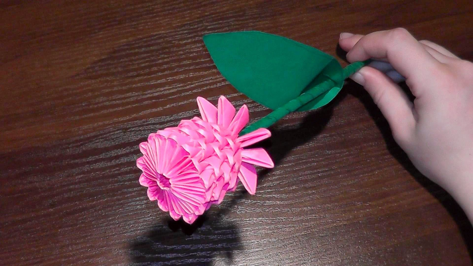 3d Origami Flower Rose Tutorial Video With A Surprise Ending