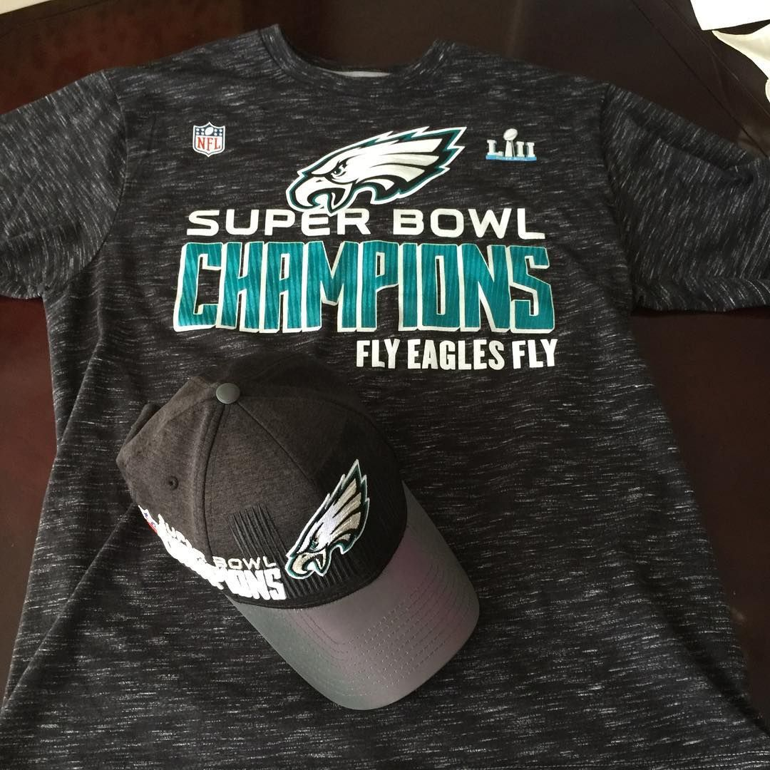 7a45e7b93a3 The championship gear is in! Still cant believe this is real! Fly Eagles  Fly! @philadelphiaeagles #philadelphiaeagles #flyeaglesfly #superbowl # champions ...