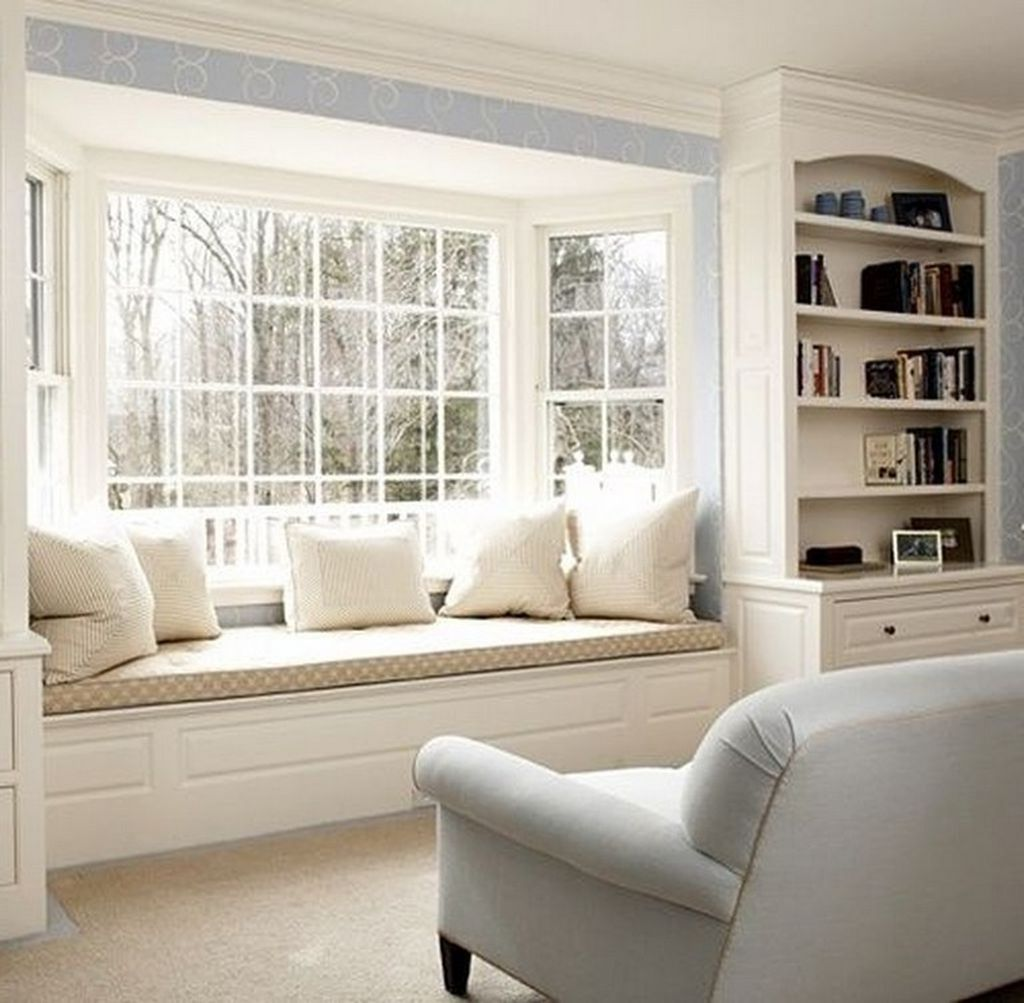 Awesome Curtain Ideas For Bay Window Living Room Eclectic: Awesome 30+ Comfy Window Seat Ideas For A Cozy Home In