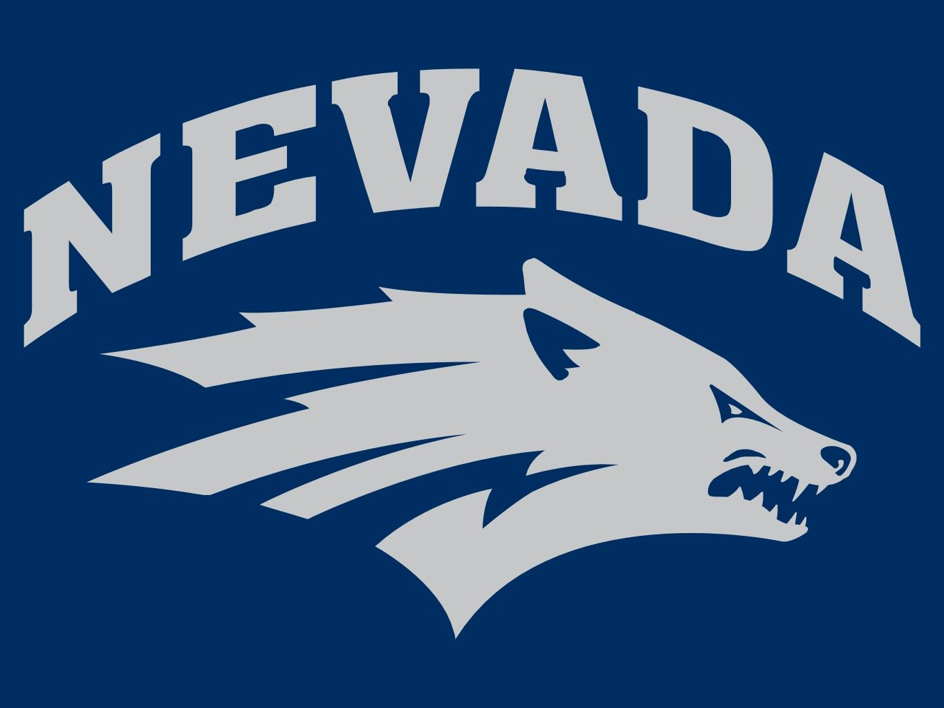 Image result for nevada wolf pack logo colored background