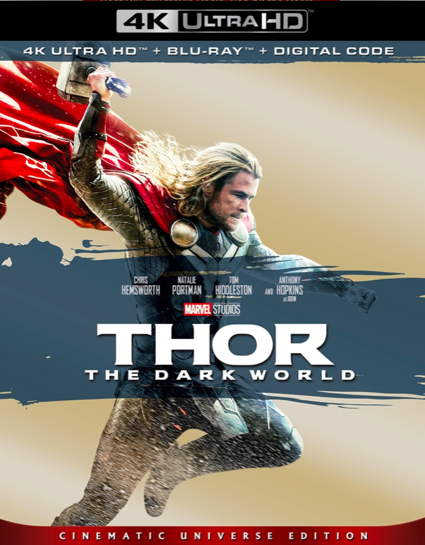 Pin by CK on 4K Movies The dark world, Thor film, Thor