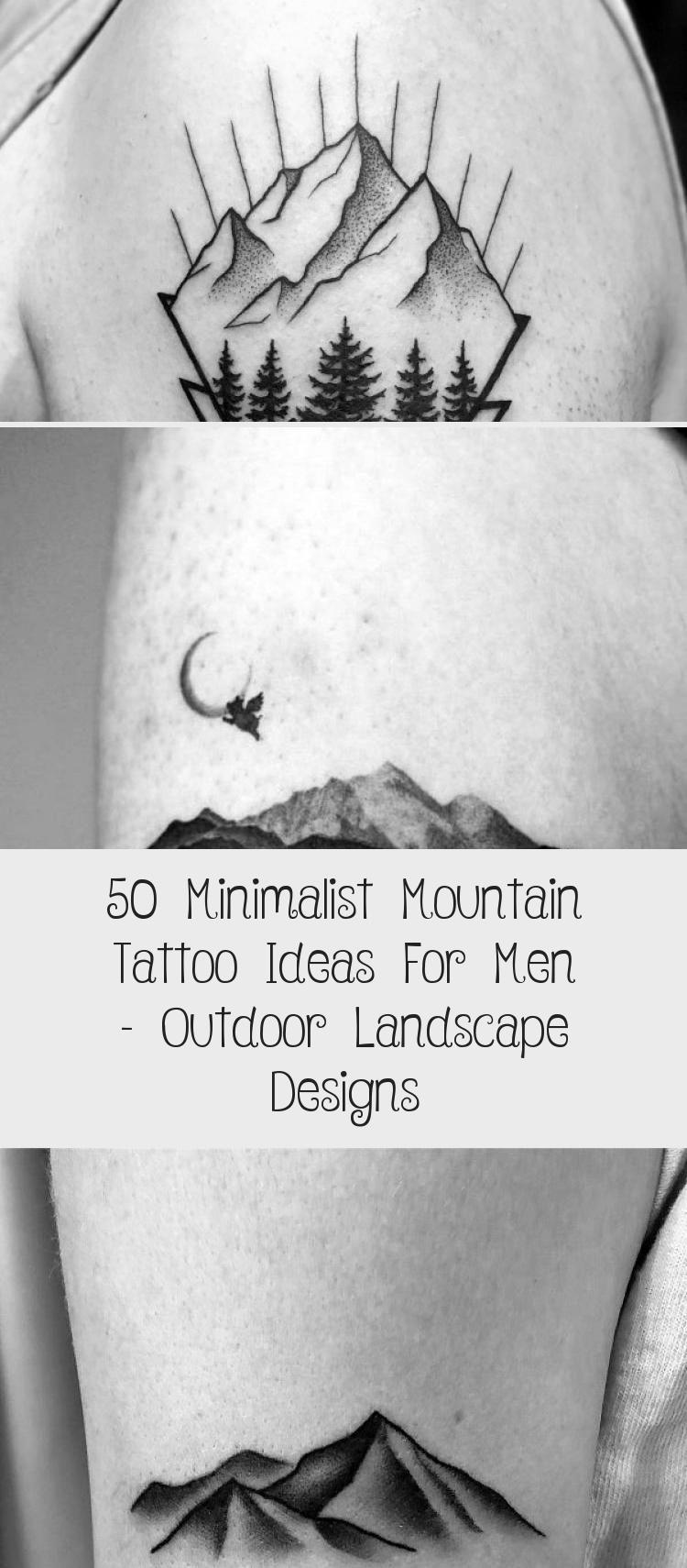 Photo of Amazing Mens Minimalist Mountain Tattoo Designs #minimalisttattooBestFriends #mi…