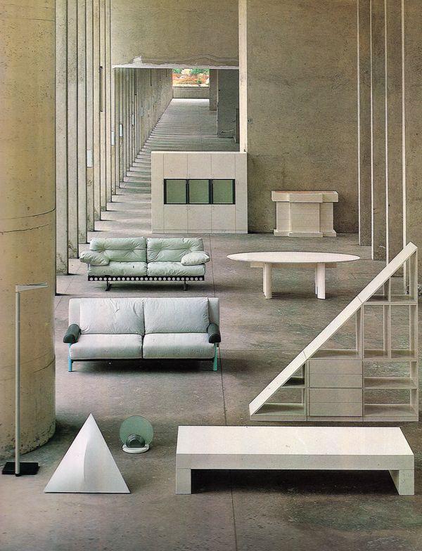 Attirant Aldo Rossi, Furniture, 1981