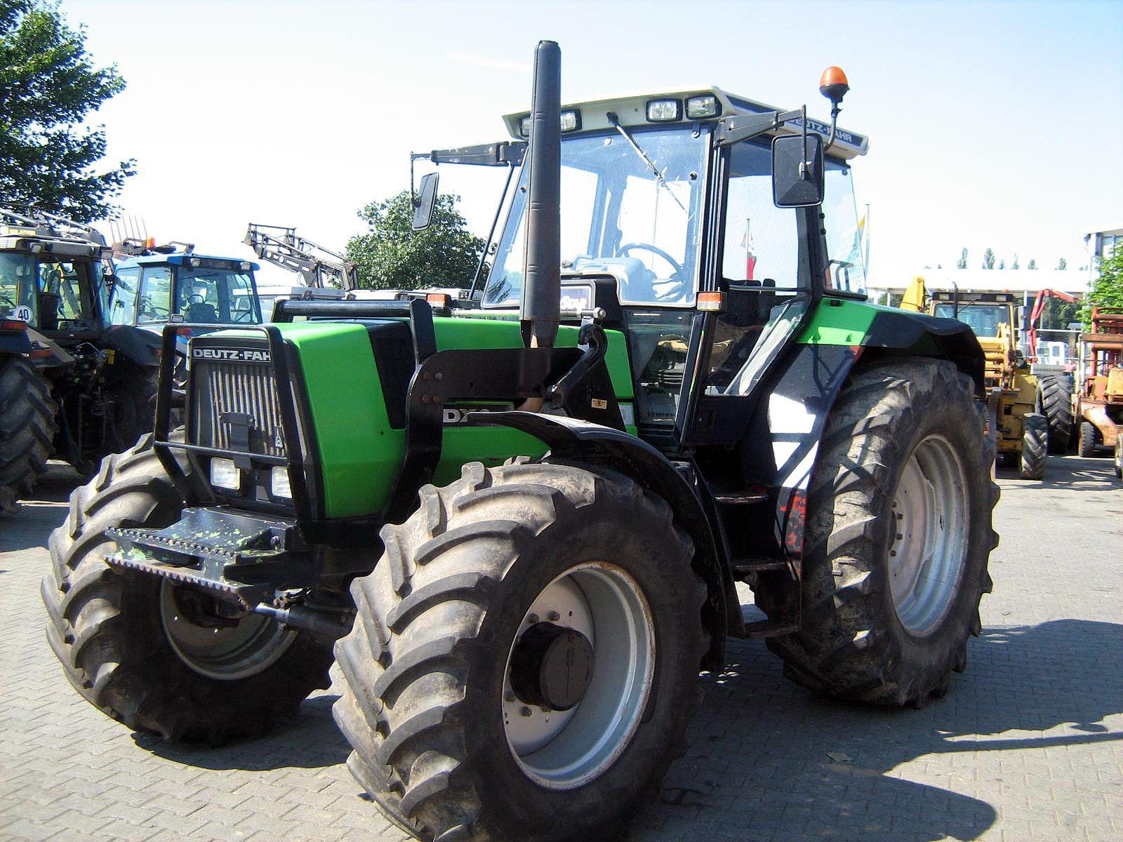 Deutz Fahr Dx 6 61 Deutz Fahr Deutz Traktoren