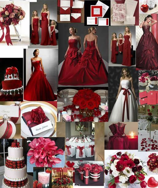 Wedding Red And White Theme: Red Wedding Ideas Red Wedding Decoration Ideas Match Your