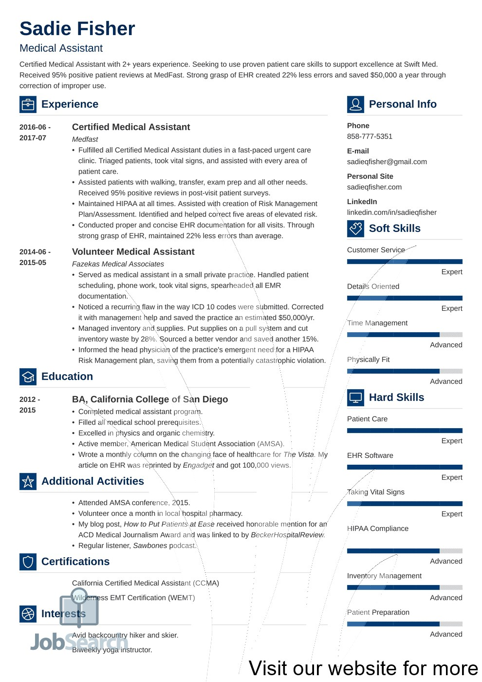 Resume Templates Free 2020