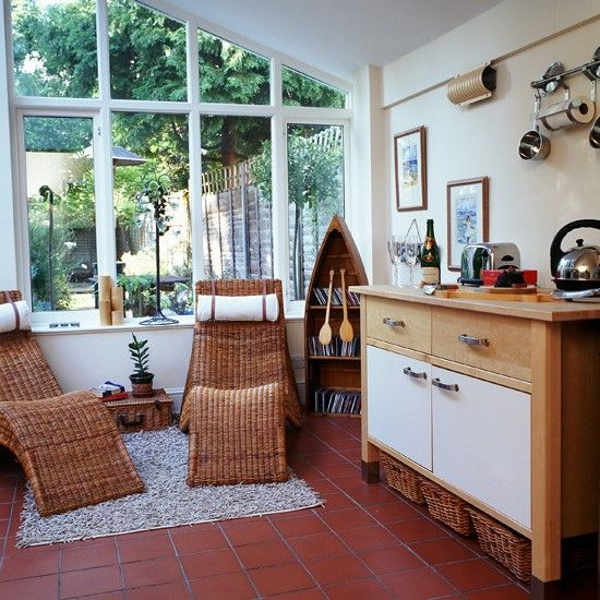 Conservatory ideas designs and inspiration cosy kitchen for Conservatory interior designs