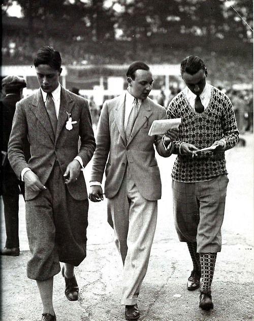 """Men's """"sportswear' day wear, 1926"""