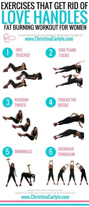 Exercises That Get Rid Of Love Handles And Back Fat Core