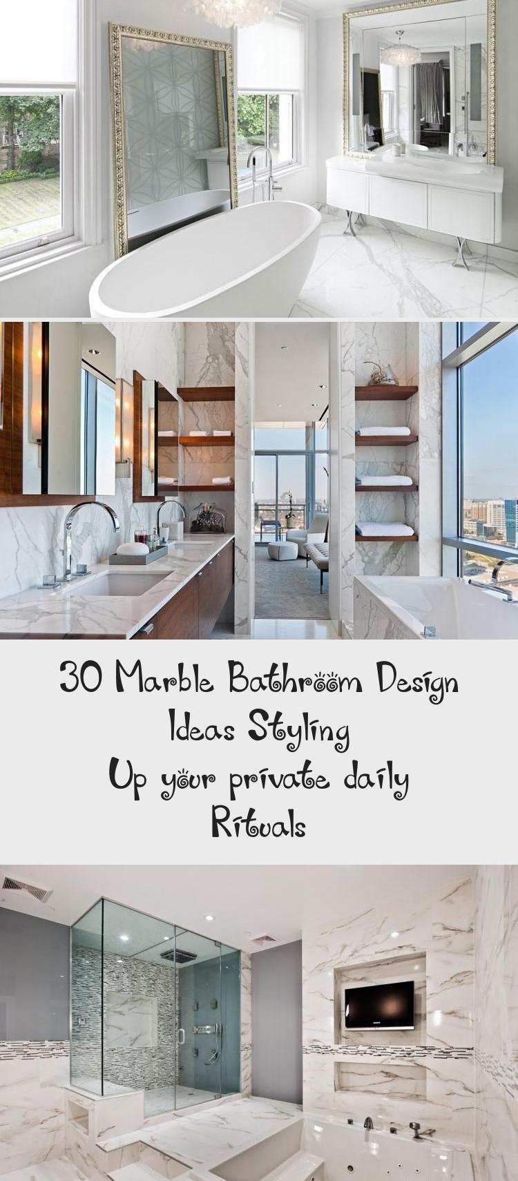30 Designideen Fur Marmorbader Gestalten Sie Ihre Privaten Taglichen Rituale Badezimmer In 2020 Marble Bathroom Designs Marble Bathroom Bathroom Design