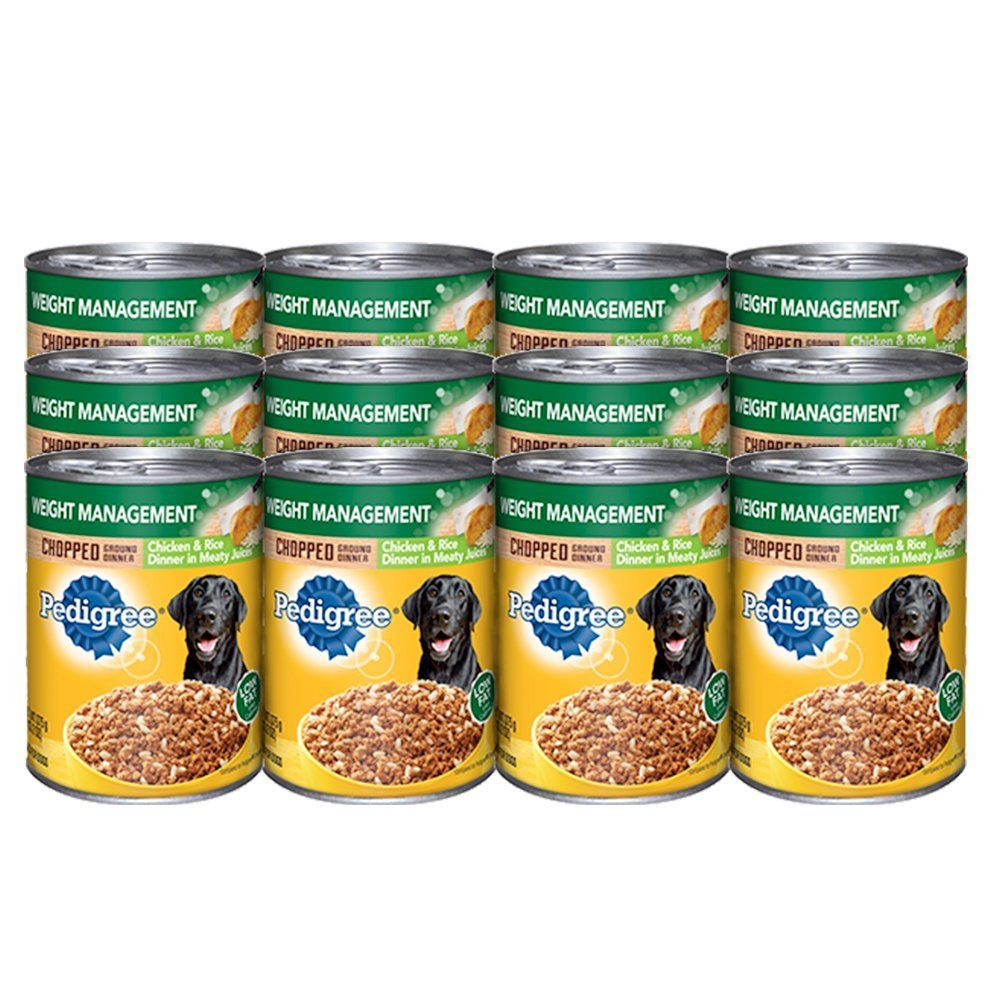 Pedigree meaty ground dinner weight management with