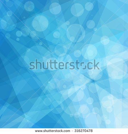 Abstract Geometric Blue And White Background Bright Shades Of Sky